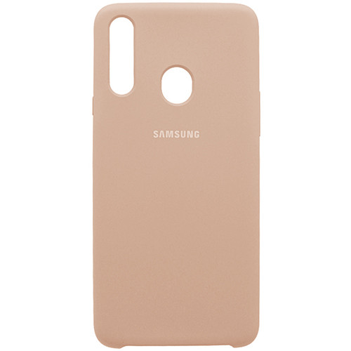 Чехол New Original Soft Case Samsung A207 Galaxy A20s (18) Sand Pink