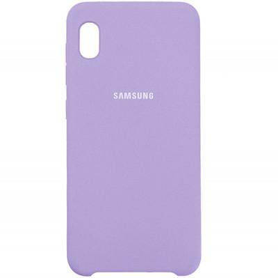 Чехол New Original Soft Case Samsung A013 Galaxy A01 Core (13) Lavender