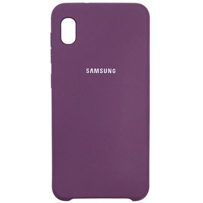 Чехол New Original Soft Case Samsung A013 Galaxy A01 Core (14) Purple