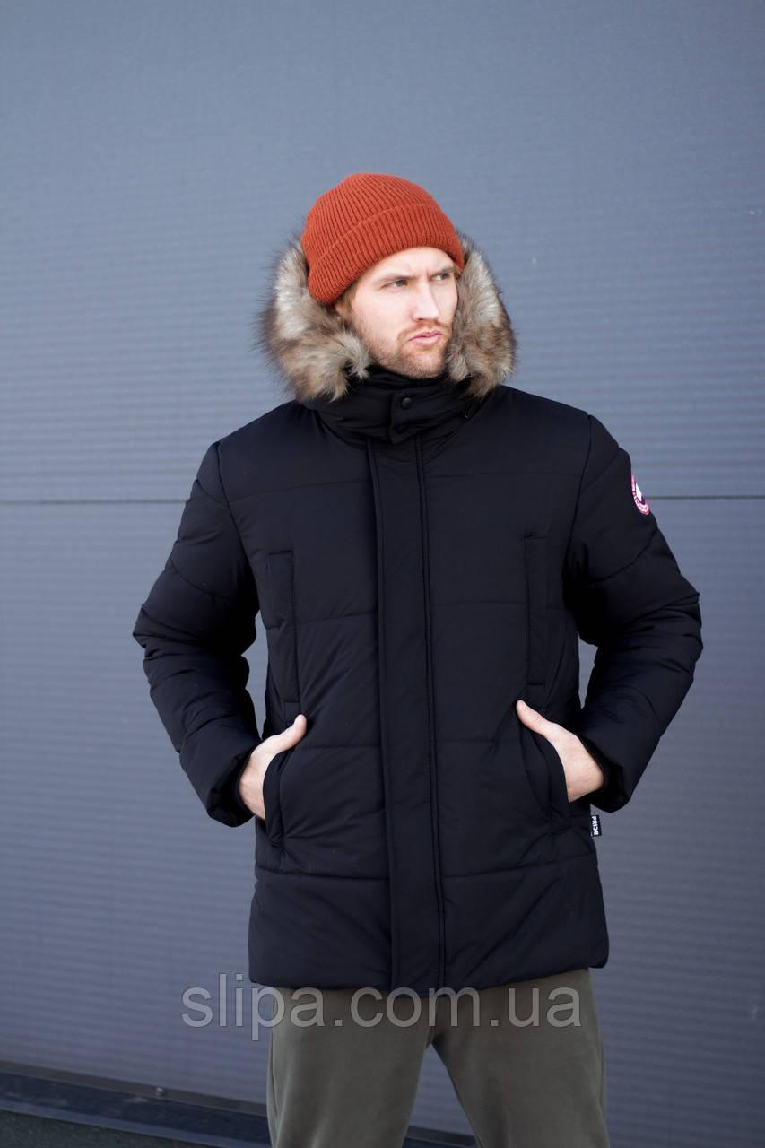 Чоловіча зимова куртка Canada Goose Arctic Program чорна