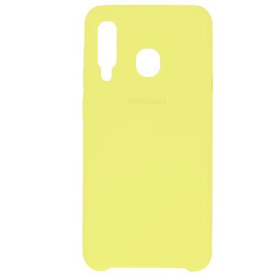 Чехол New Original Soft Case Samsung A207 Galaxy A20s (20) Lemonade