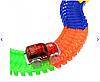 Детская развивающая гоночная трасса Magic Tracks 220, Гнущийся и светящийся гоночный трек Magic Tracks (220 де, фото 4