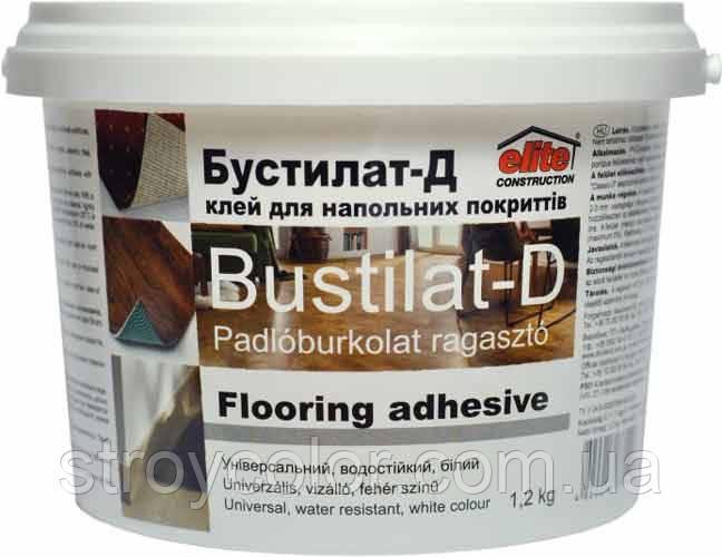 Клей строительный Бустилат-Д Elite construction 1,2кг (Для напольных покрытий дивоцвет)