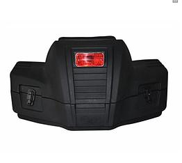Кофра пластиковая для квадроцикла с мягкой спинкой универсальным креплением и стоп сигналом SD1-R60 60 литров