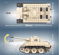 Конструктор Немецкий танк VK 1602 Leopard Quanguan, фото 2