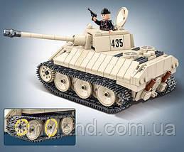 Конструктор Немецкий танк VK 1602 Leopard Quanguan, фото 3