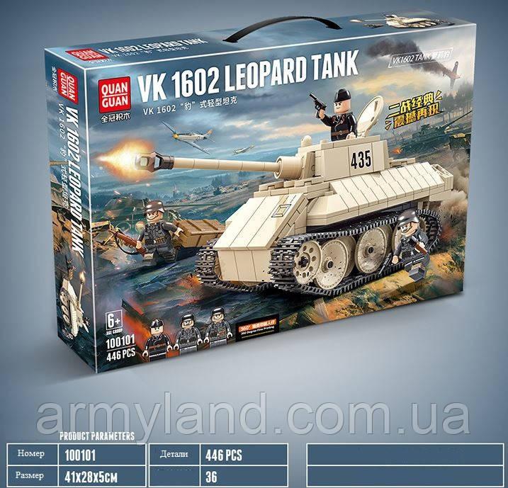 Конструктор Немецкий танк VK 1602 Leopard Quanguan