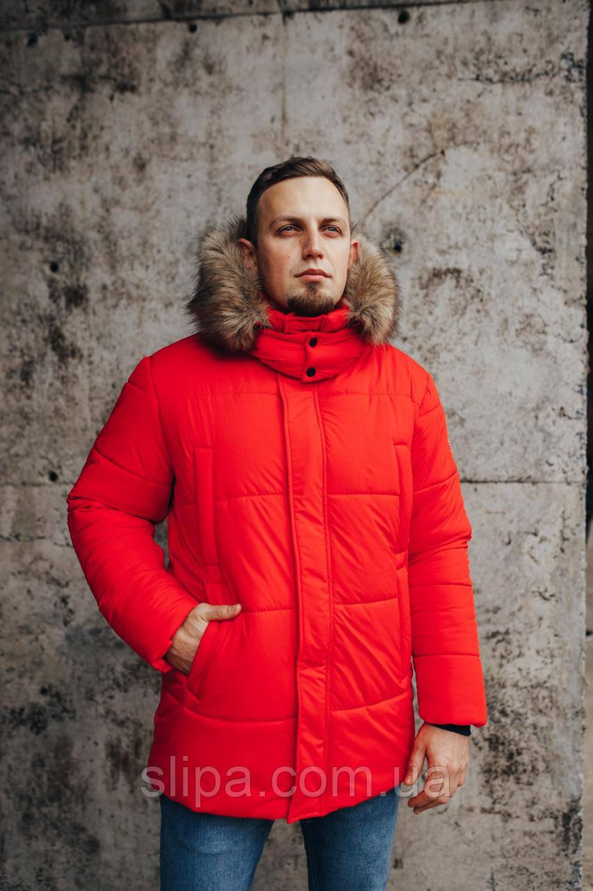 Мужская зимняя куртка Canada Goose Arctic Program красная