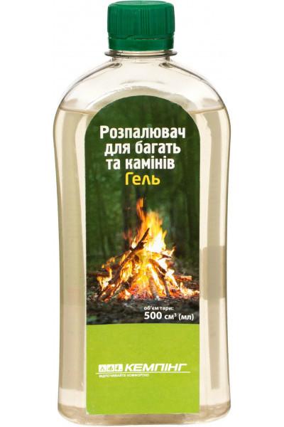 Жидкость для розжига Кемпинг гелевая 0.5 л
