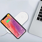 Беспроводное зарядное устройство AirPower Wireless Charger 2 в 1 + Беспроводная зарядка для Apple iWatch, фото 4
