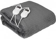 Электрическое одеяло с таймером Camry CR 7417 двухспальное для обогрева мощность 120 Вт, 150 см *160 см, фото 3