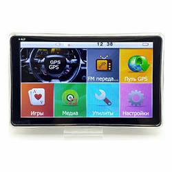 Автонавигатор GPS 8004 ddr2-128mb, 8gb HD с емкостным экраном, GPS-навигатор, Навигационная система для машины