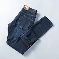 Зимние утепленные мужские джинсы BURBERRY