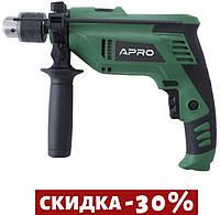 Дрель ударная Apro - УД 1000