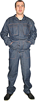 Костюм рабочий джинс, форма мужская, джинсовый костюм