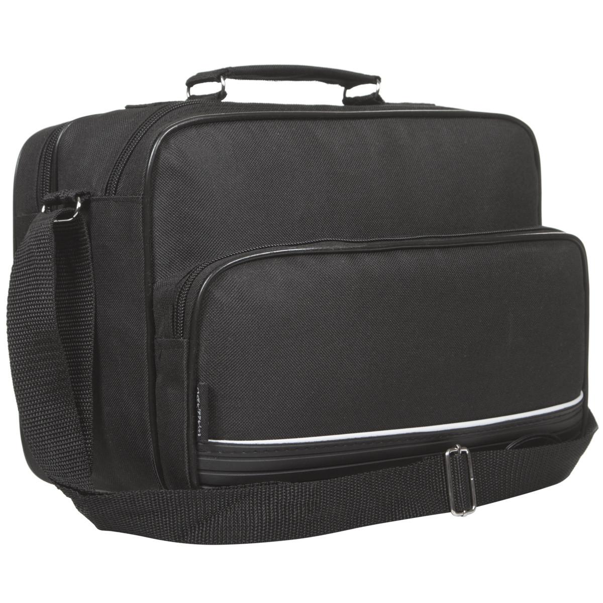 Мужская сумка Wallaby 3 отделения , ткань полиестр с ПВХ 31х22х15 тканевая ручка в 2130