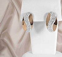 """Сережки срібні """"Лора"""", фото 1"""