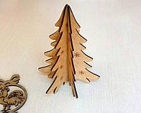 Новорічні прикраси з дерева - ялинка 🎄 креативні новорічні іграшки