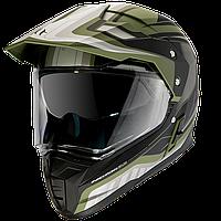 Шлем MT Synchrony Duo Sport Tourer Green/Black, фото 1