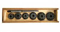 Набор зенковок ЯМЗ-238 для ремонта седел клапанов