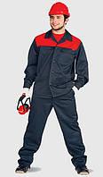 Костюм для строителя, рабочая одежда, куртка и брюки, спецодежда