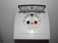 VGA розетки, аудиорозетки в ассортименте