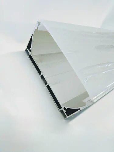 Комплект Biom профиль алюм. анод. накладной ЛС-75А с рассеивателем ЛС-75А+LM-75
