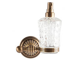 Дозатор для жидкого мыла, античная бронза KUGU Hestia antique 914A