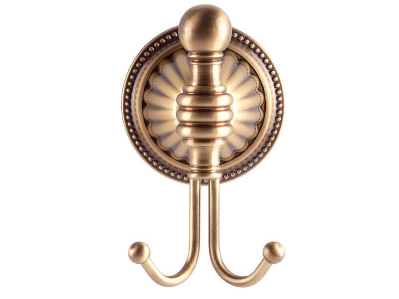 Крючок двойной, античная бронза KUGU Hestia antique 910A