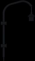 Основание для настенного светильника Willow mini (База, Дания)