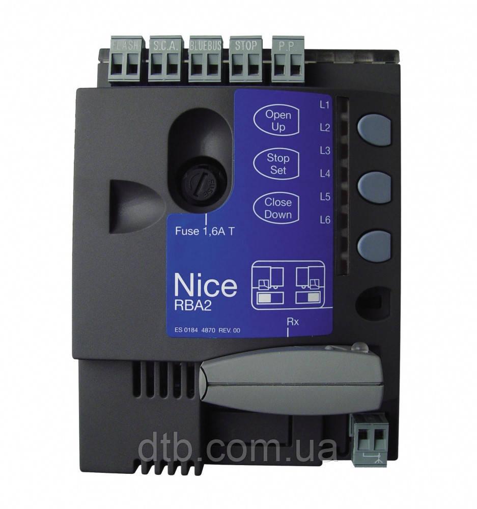 Плата блок управления для Nice Robus 350 RBA2/A RB350