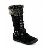 Зимові чобітки для дівчинки Garvalin 121627 чорні 27-35