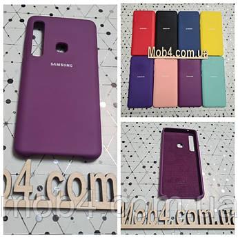 Брендовий чохол накладка Silicone Cover для Samsung Galaxy (Самсунг) A9S