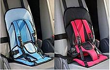 Автокресло мягкое детское безкаркасное Multi-function Car Cushion NY-26 от 9 мес до 4 лет КРАСНЫЙ, фото 2