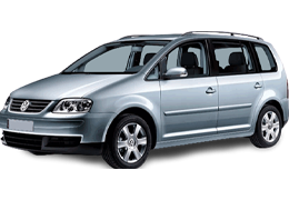 Дефлектор на капот (Мухобойки) для Volkswagen (Фольксваген) Touran I 2003-2010