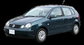 Дефлектор на капот (Мухобойки) для Volkswagen (Фольксваген) Polo 4 2001-2009