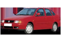 Дефлектор на капот (Мухобойки) для Volkswagen (Фольксваген) Polo 3 1994-2003