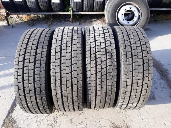 Практически новые! Шины б.у. 285.70.r19.5 Continental HDR Континенталь. Резина бу для грузовиков и автобусов