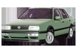 Дефлектор на капот (Мухобойки) для Volkswagen (Фольксваген) Jetta 3 1992-1998