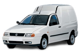 Дефлектор на капот (Мухобойки) для Volkswagen (Фольксваген) Caddy II 1995-2004