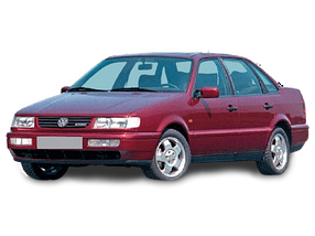 Дефлектор на капот (Мухобойки) для Volkswagen (Фольксваген) Passat B4 1991-1997