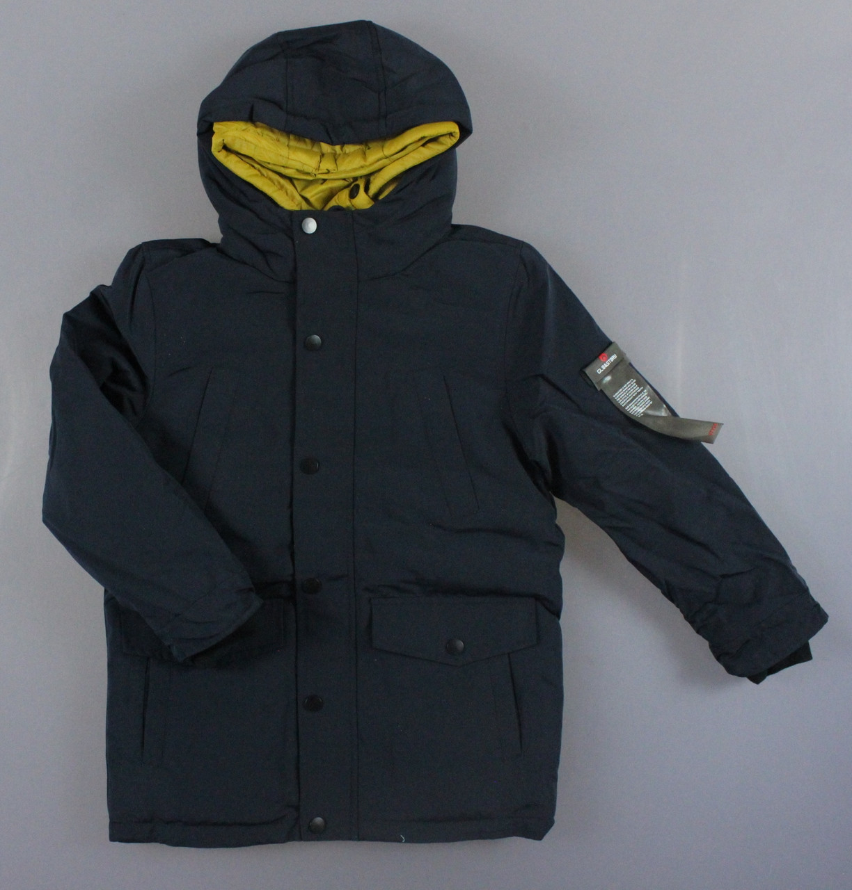 {есть:158/164} Куртка утепленная для мальчиков Glo-Story,  Артикул: BMA1350-т.синий [158/164]