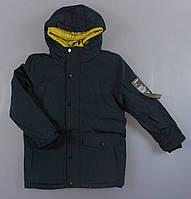 {есть:158/164} Куртка утепленная для мальчиков Glo-Story,  Артикул: BMA1350-т.синий [158/164], фото 1