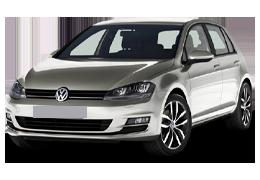 Дефлектор на капот (Мухобойки) для Volkswagen (Фольксваген) Golf 7 2012+