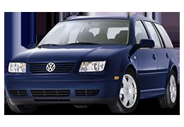 Дефлектор на капот (Мухобойки) для Volkswagen (Фольксваген) Jetta 4 1998-2005
