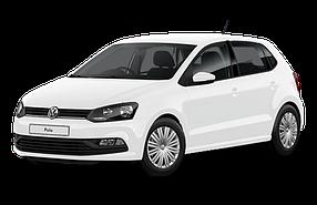 Дефлектор на капот (Мухобойки) для Volkswagen (Фольксваген) Polo 5 2009-2017