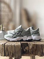 Кроссовки Adidas Ozweego серые, фото 1