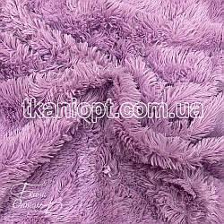 Ткань Мех травка 18 мм (сирень)