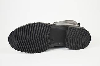 Ботинки кожаные Evromoda 148292 черные, фото 3