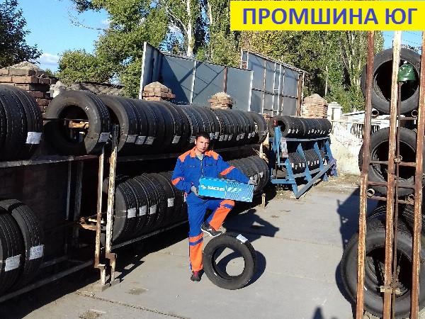 Шины б.у. 435.50.r19.5 Hankook TL10+ E cube Max Хэнкук. Резина бу для грузовиков и автобусов